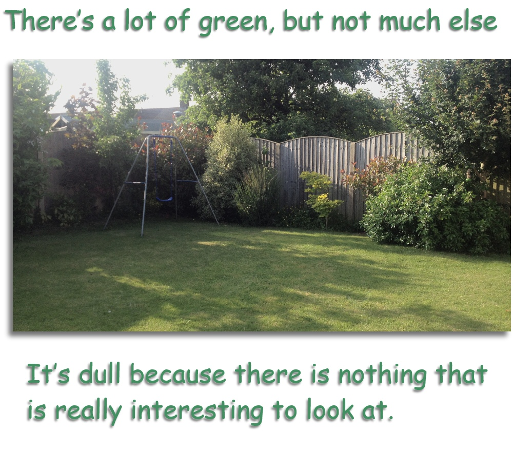 green and dull