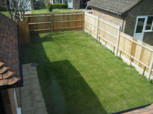 Simons Garden before