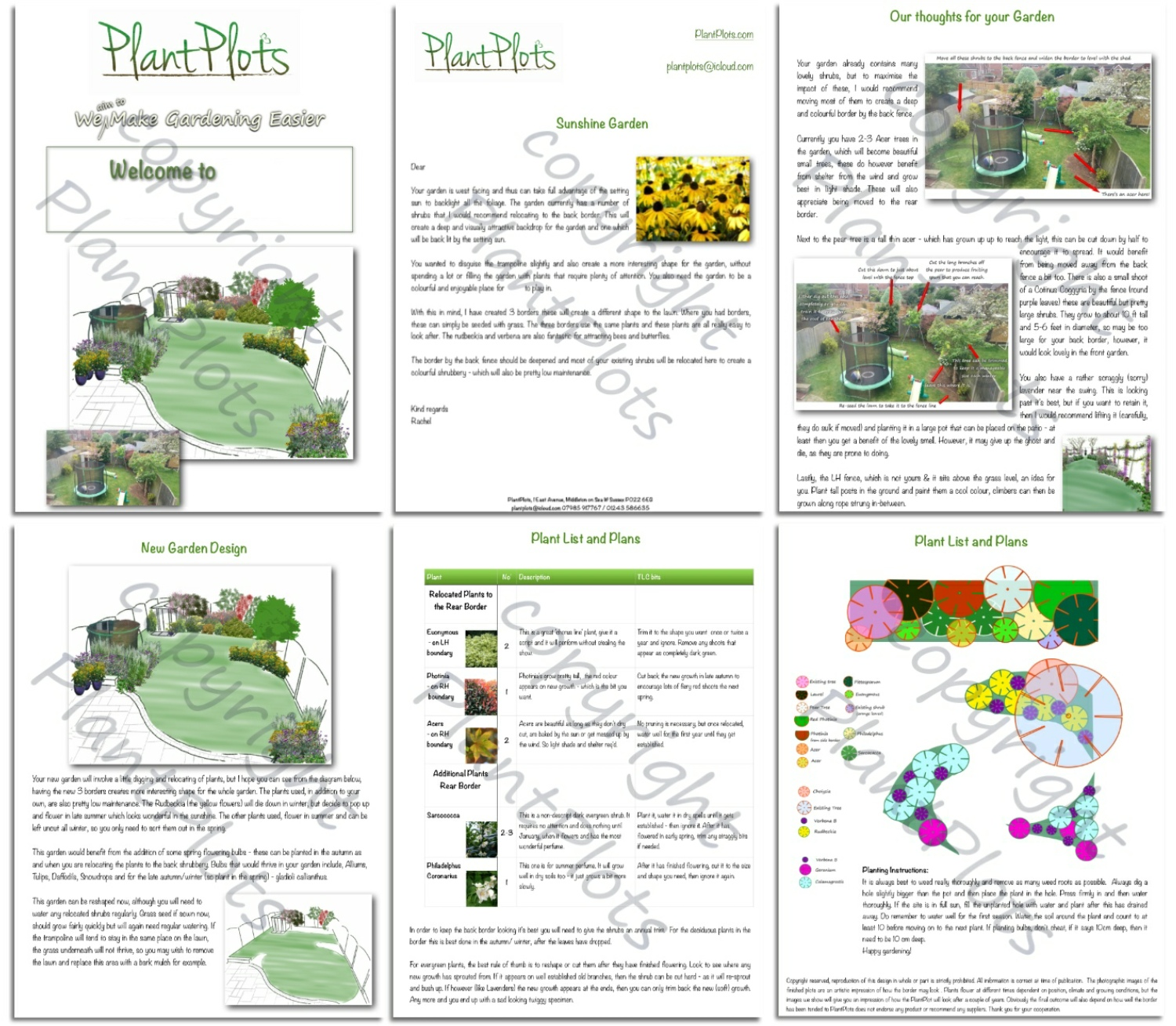 plantplots design service – created just for you – plantplots