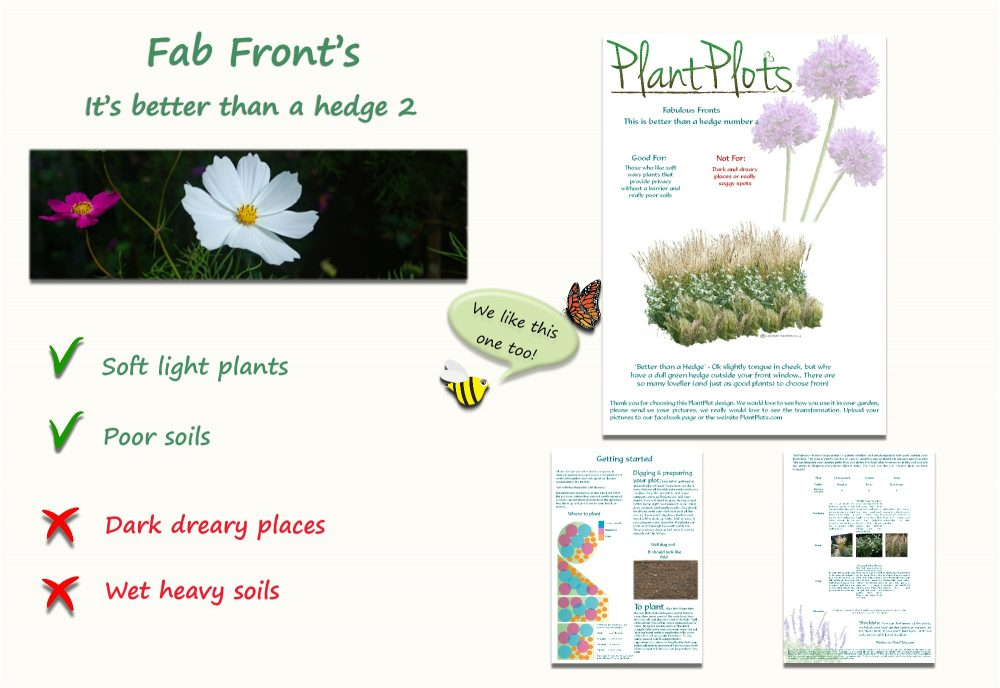 Garden Border Planting Design Plan soft light planting in neutral colours