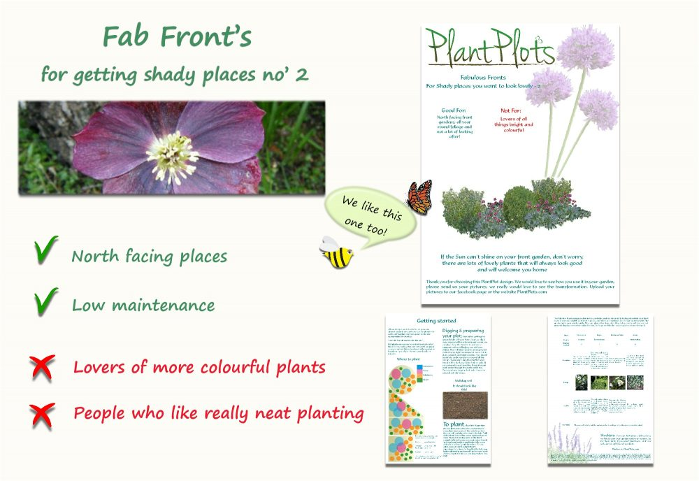 Garden Border Planting Design Plan planting for shaded areas winter flowers