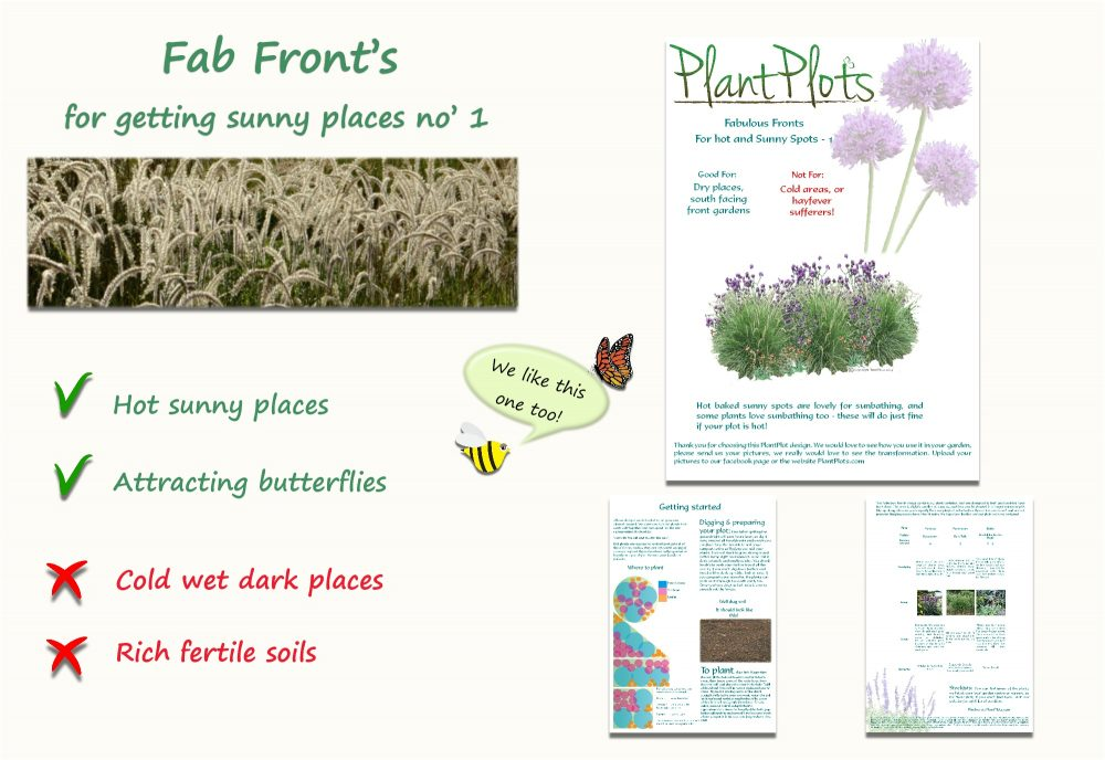Garden Border Planting Design Plan easy care doft planting scheme neutral colours
