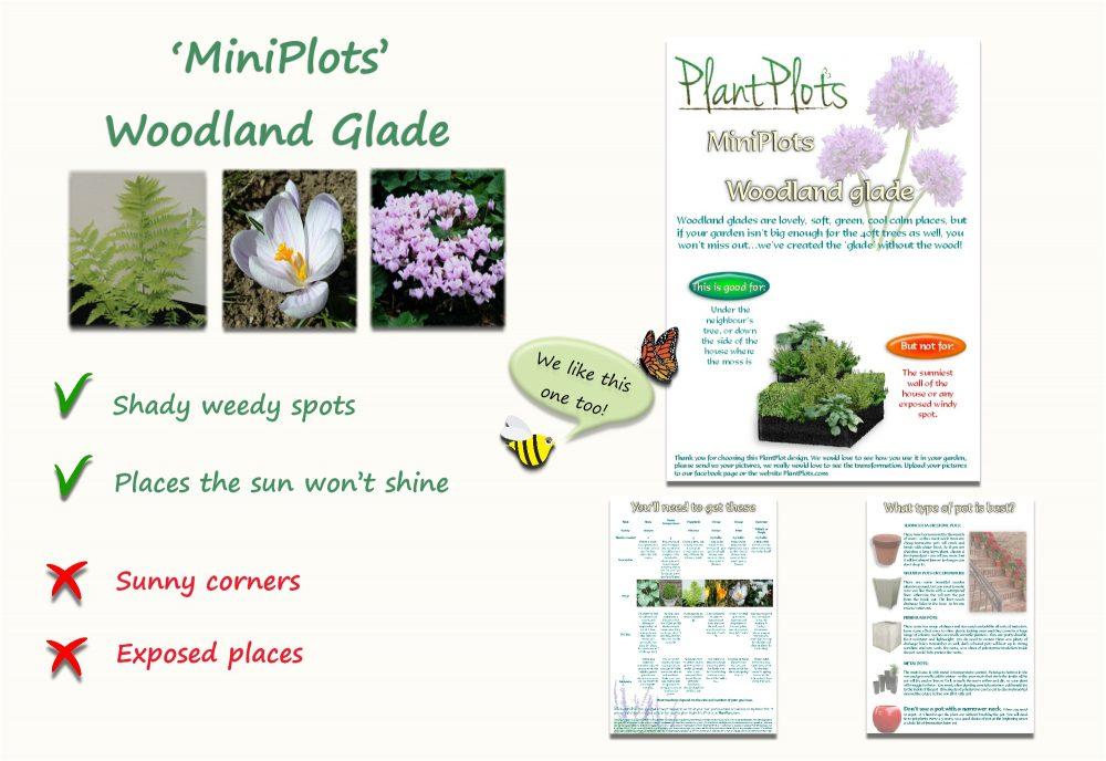Garden Border Planting Design Plan semi shade delicate flowers